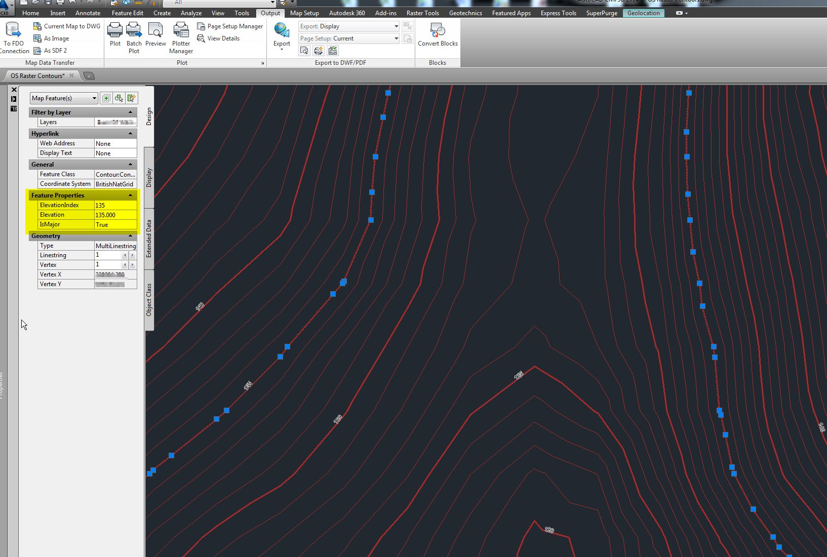 Drawing Smooth Lines In Autocad : Solved export contour layer for use in civil d autodesk