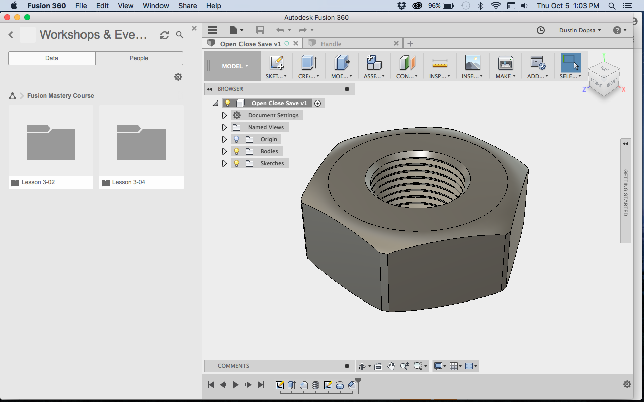 Solved: Getting Started with Fusion 360 - Autodesk Community