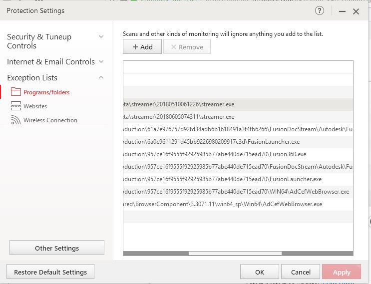 Fusion 360 conflict with Trend Micro Antivirus - Autodesk Community