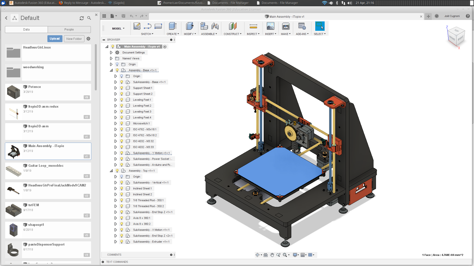 Running Fusion 360 installer on Linux through Proton libraries