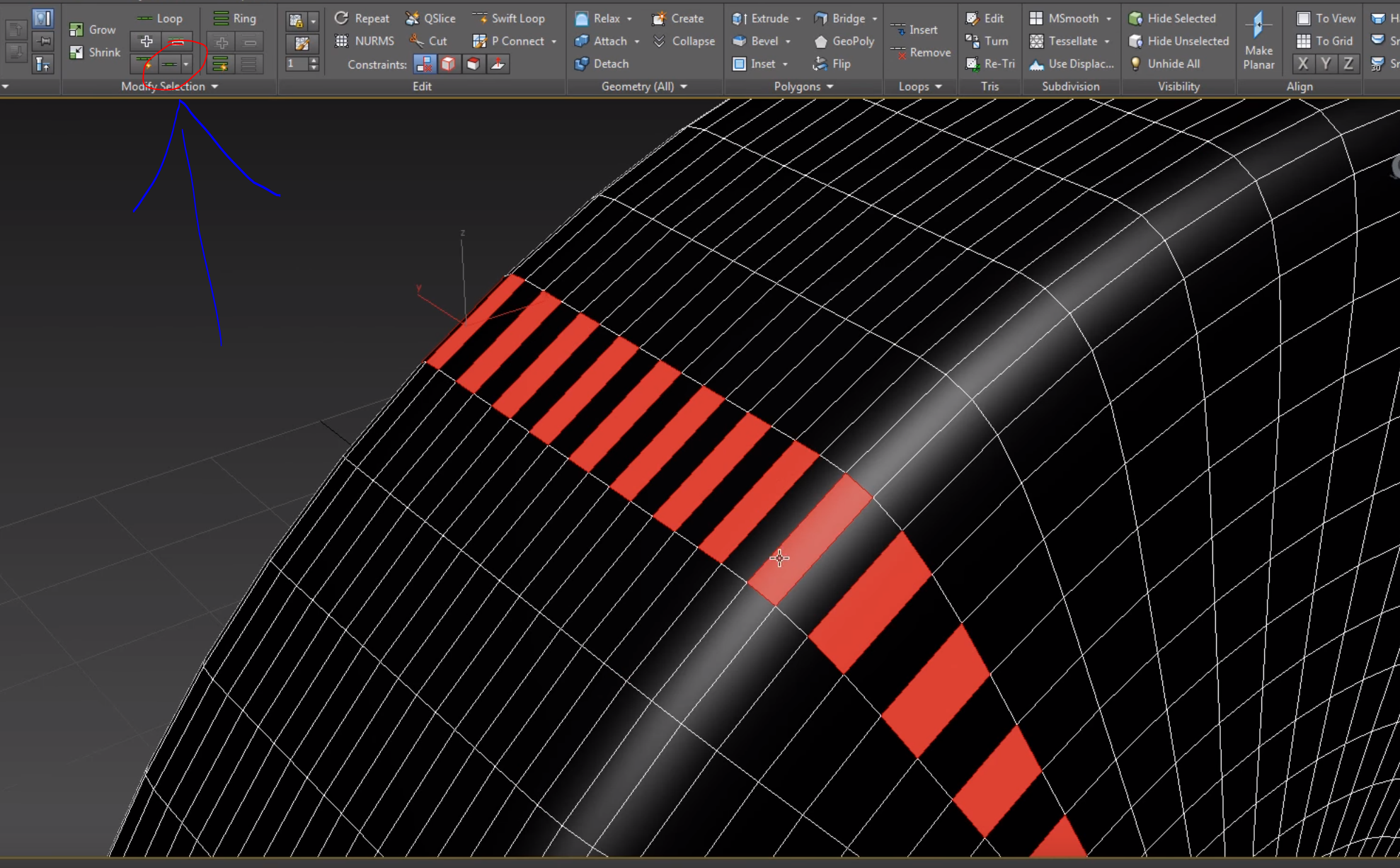 Anxiously waiting for Dot Loop tool like 3ds max - Autodesk Community