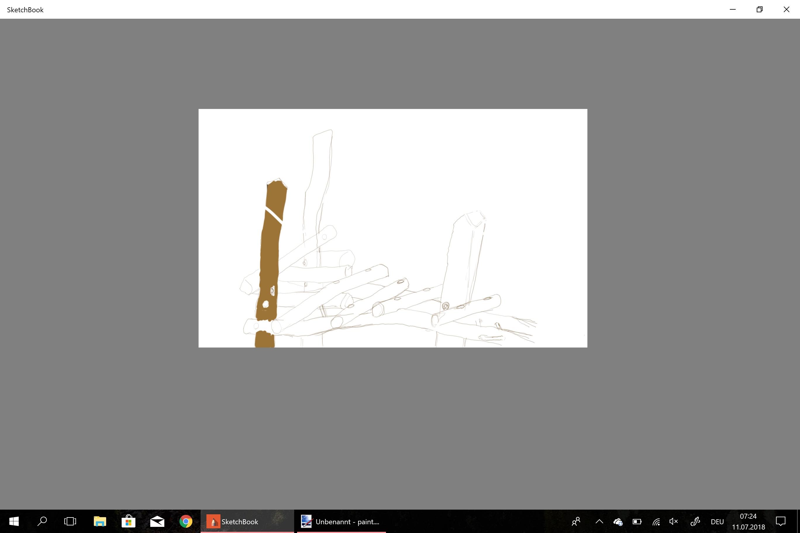 Solved: SketchBook stuck in Fullscreen Mode on Windows