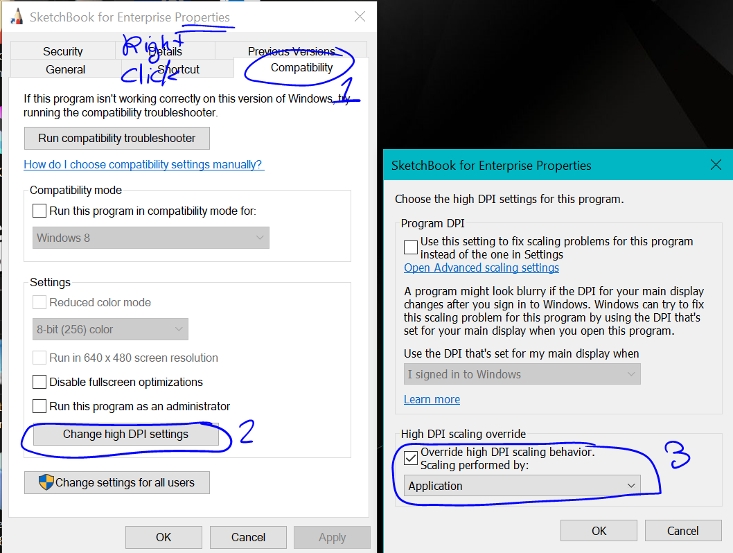 Solved: Jagged lines problem in Windows 10  - Autodesk Community