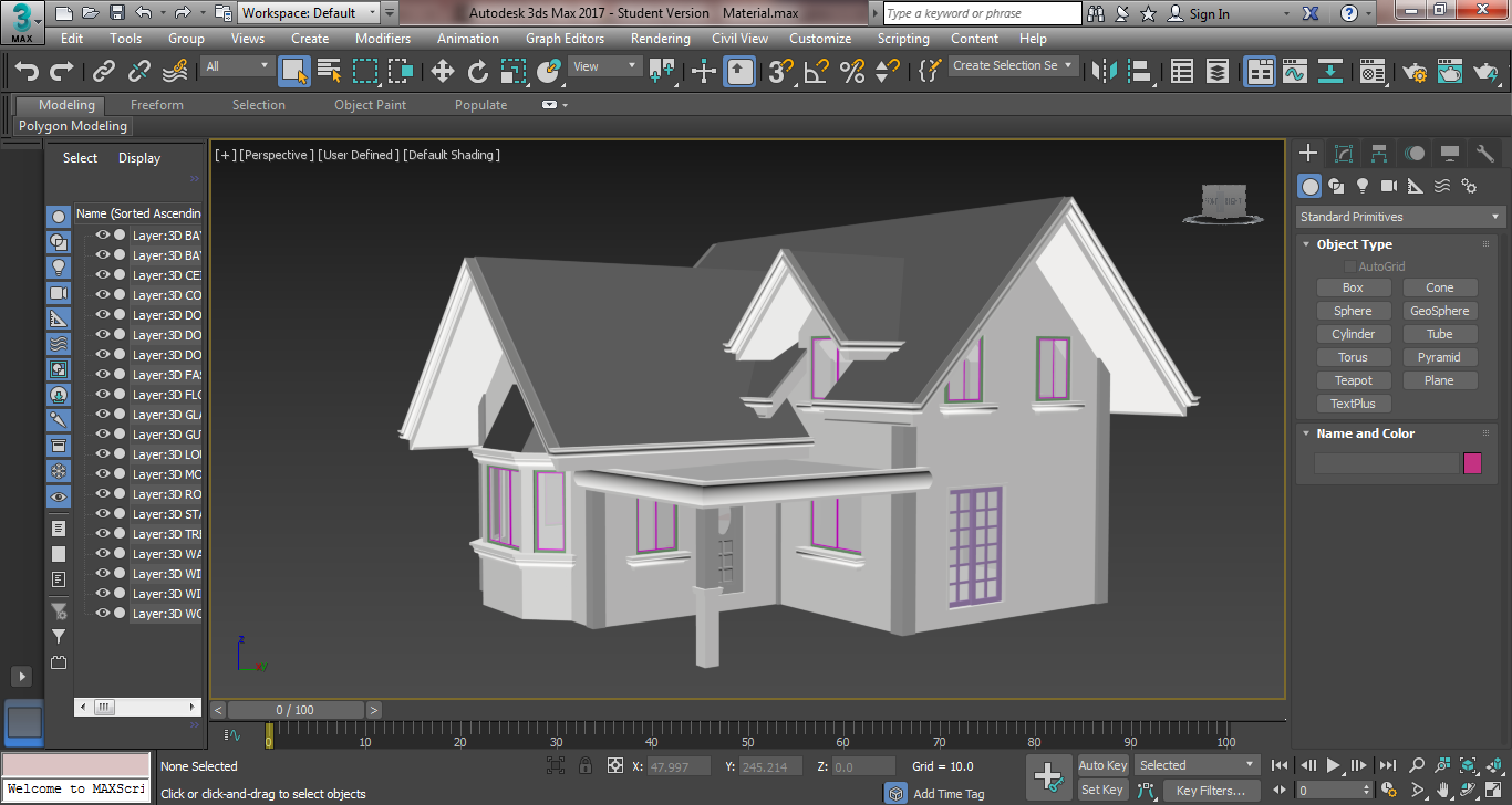 Solved: 3ds 2017   Home Grids And Layers Colors Are Not Showing   Autodesk  Community  3ds Max