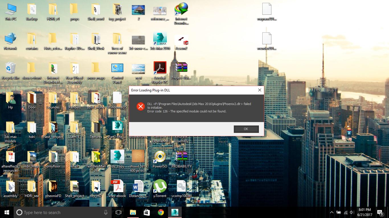 Solved: Error loading Plugin dll - Autodesk Community- 3ds Max