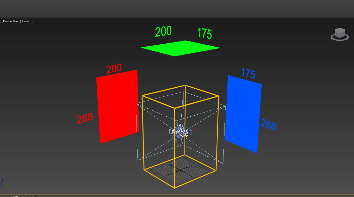 Setting up cameras for 360 cubemap rendering but in a