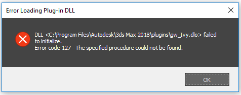 Solved: Problem with Ivy Generator Plugin in 3ds max 2018 - Autodesk
