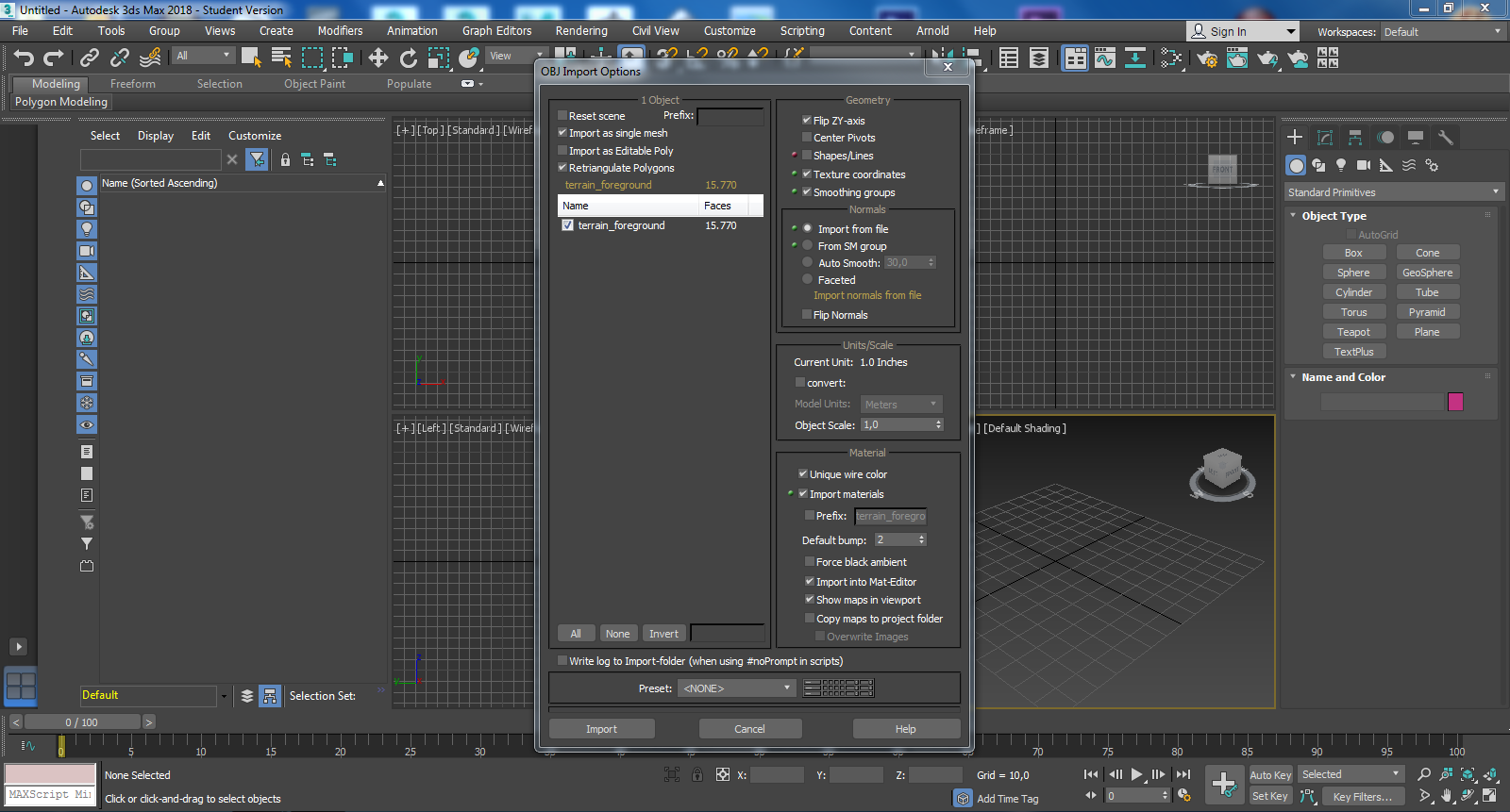 Solved: How to import a 3D Model exported from Zbrush