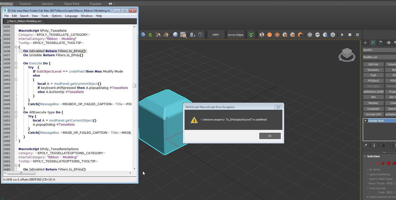 Solved: Max Script error - Autodesk Community- 3ds Max