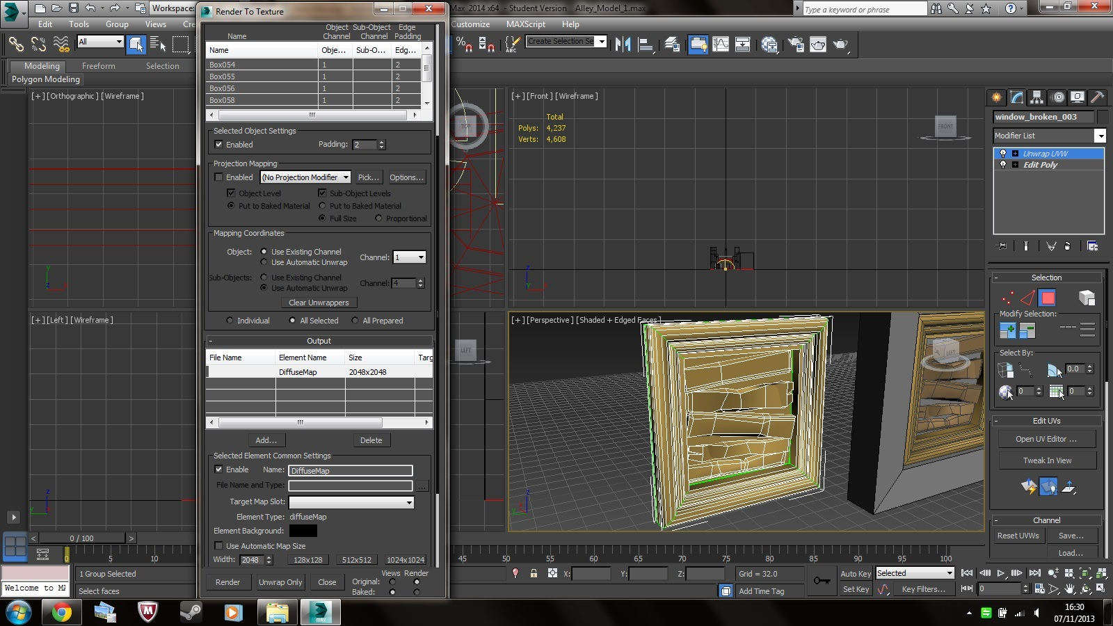 Render to Texture not working properly - Autodesk Community- 3ds Max