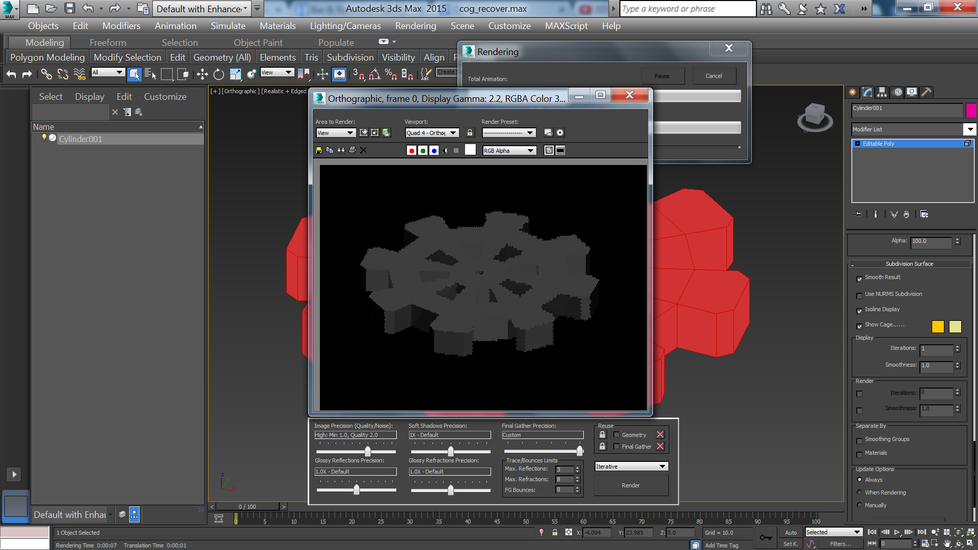 Rendering issues - Autodesk Community- 3ds Max
