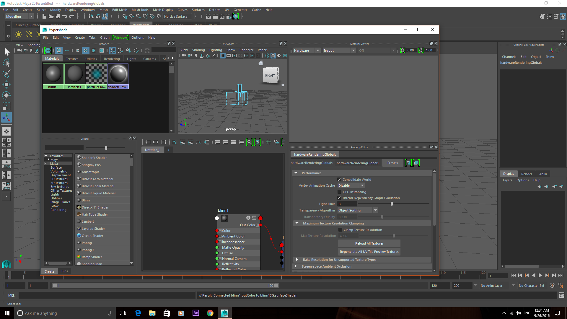 Maya material viewer not working Download Newest Version