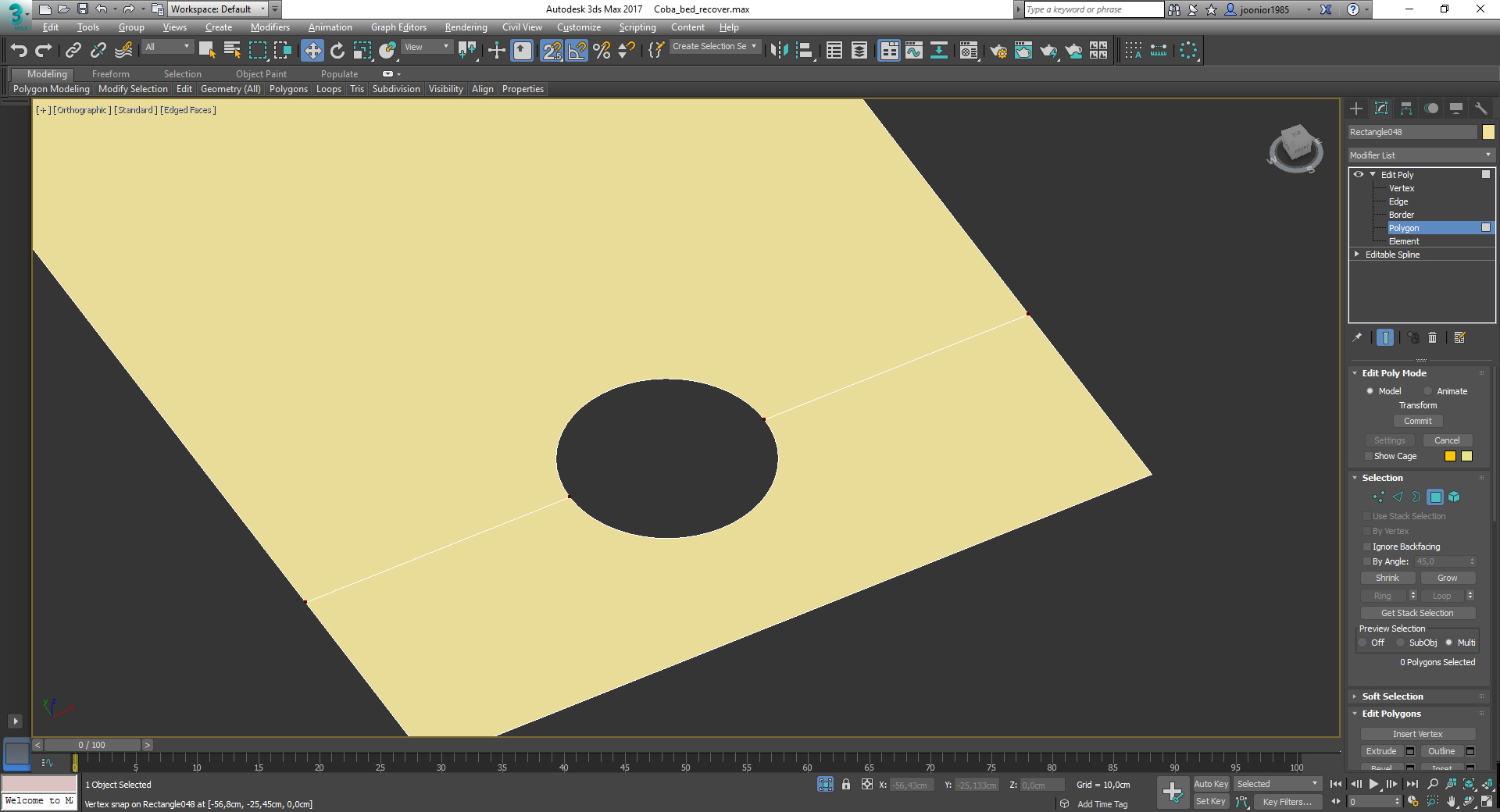 Invisible edges? - Autodesk Community- 3ds Max