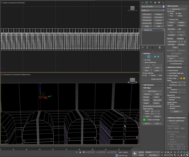 Bridging multiple sets of edges - Autodesk Community- 3ds Max