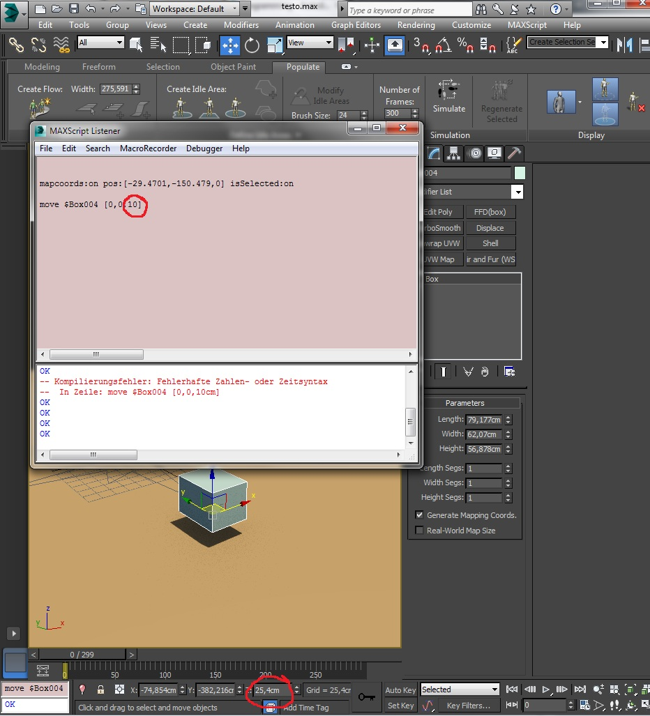 Solved: Max Script easy position problem - Autodesk