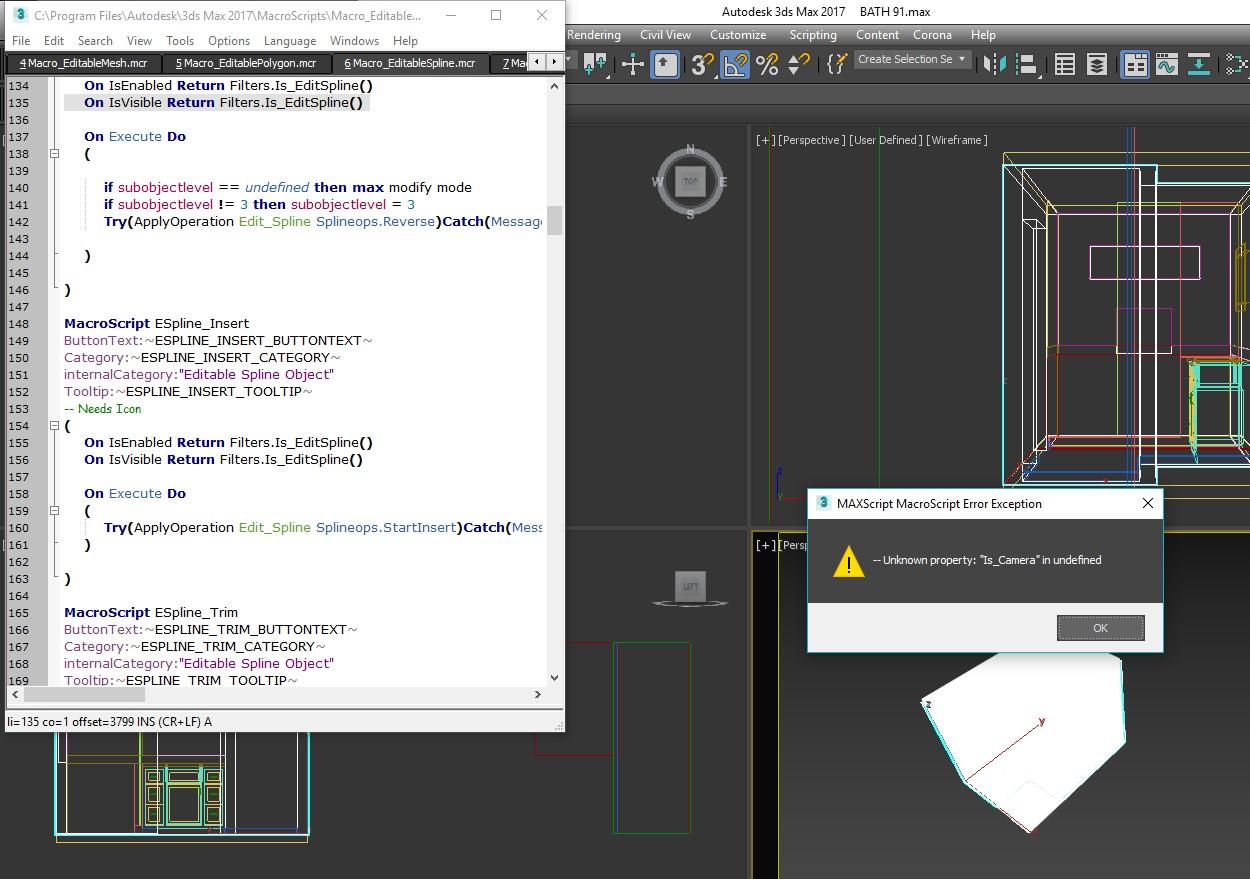 Solved: ERROR: MaxScript When right clicking - Autodesk Community