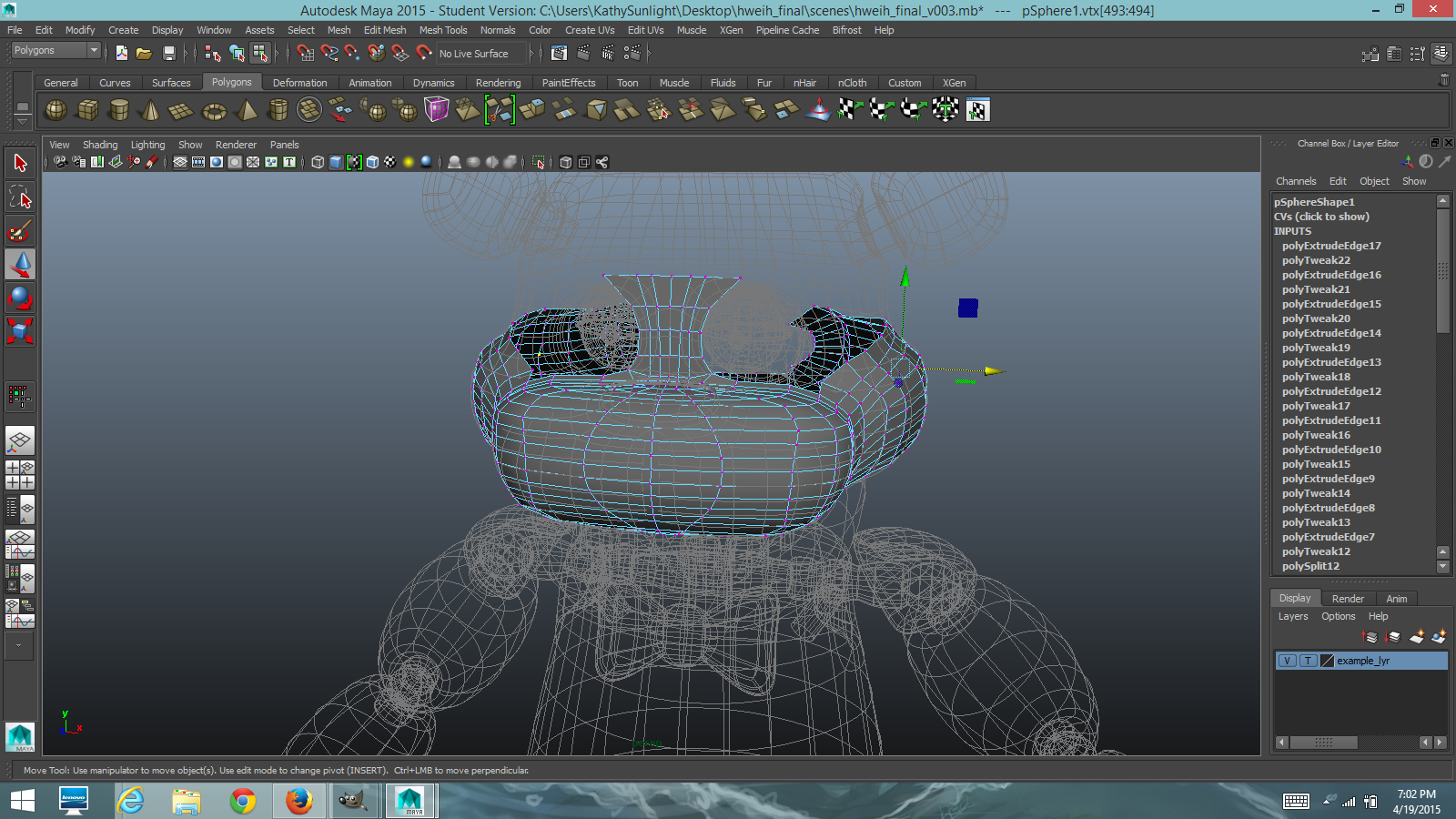 Solved: How to Model Freehandly - Autodesk Community- Maya
