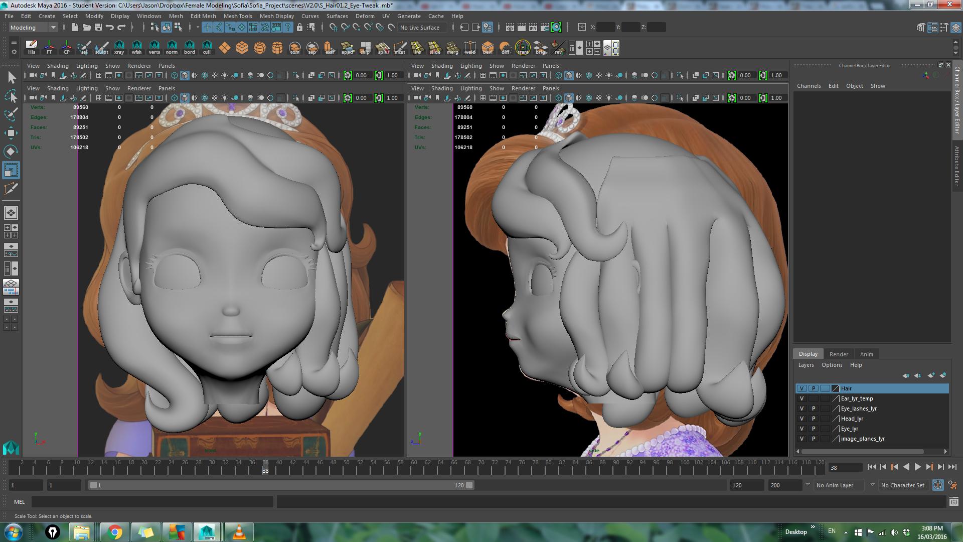 Need Help Creating Polygon Hair Autodesk Community Maya