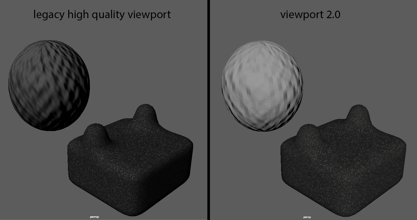 Bump mapping not displaying correctly in viewport 2 0