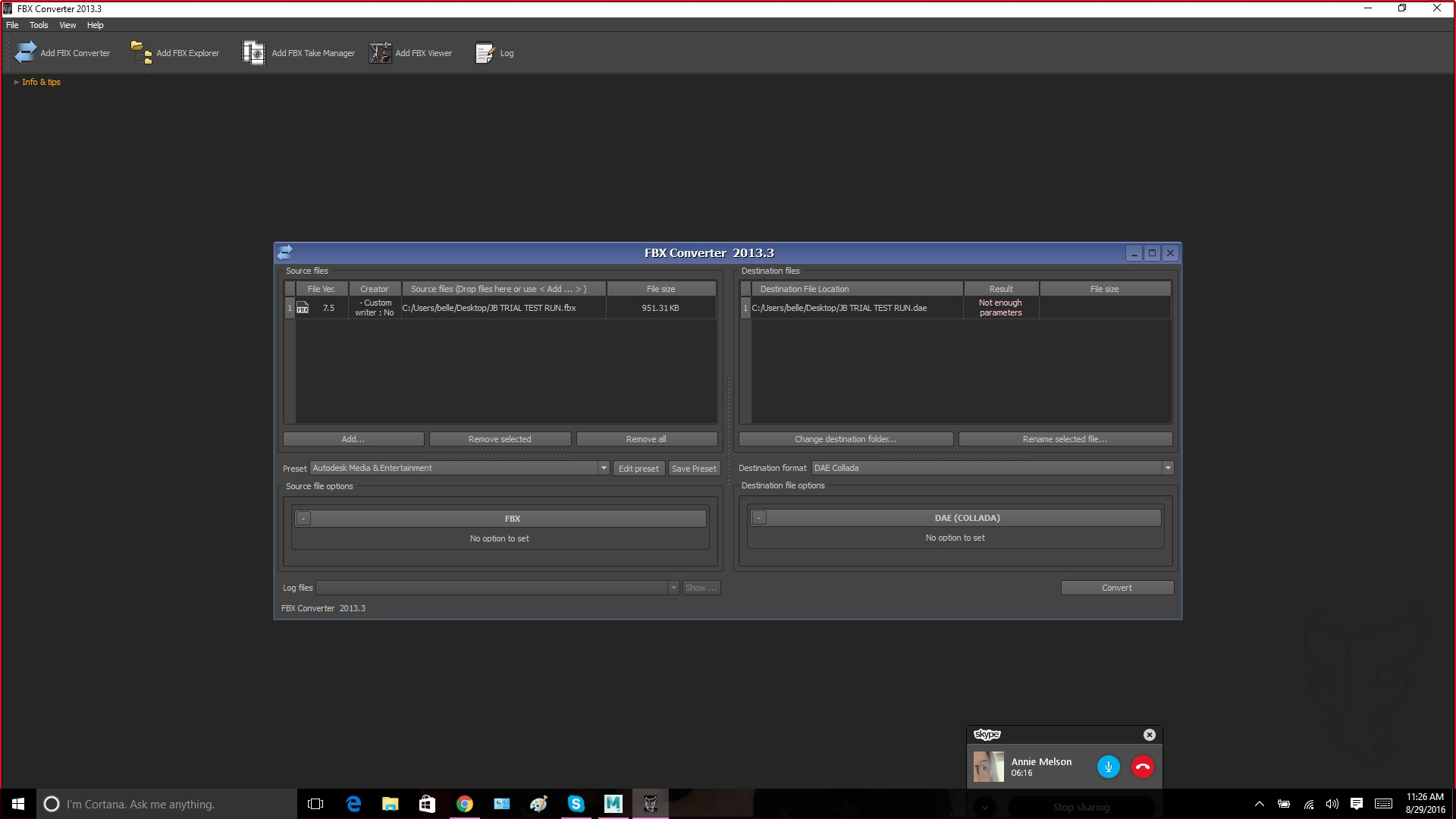 Solved: COLLADA export - Autodesk Community- Maya LT