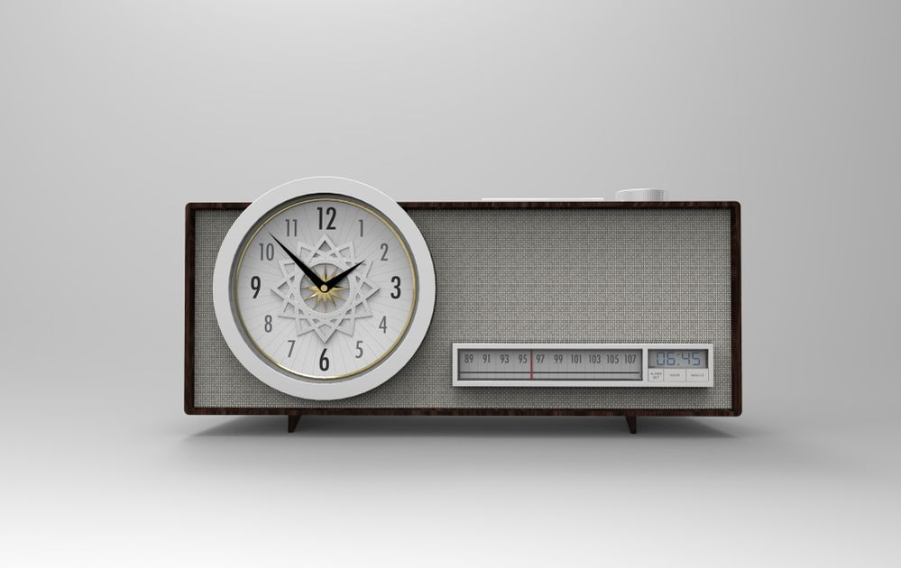 Clock Radio - Tanner Reid