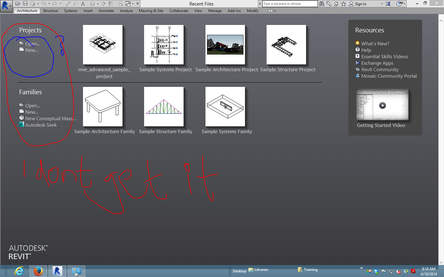 Solved: Revit 2015 Has No Architectural,Structural or Mechanical ...