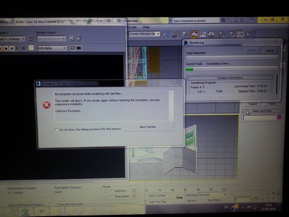 Solved: Rendering error help please - Autodesk Community- 3ds Max