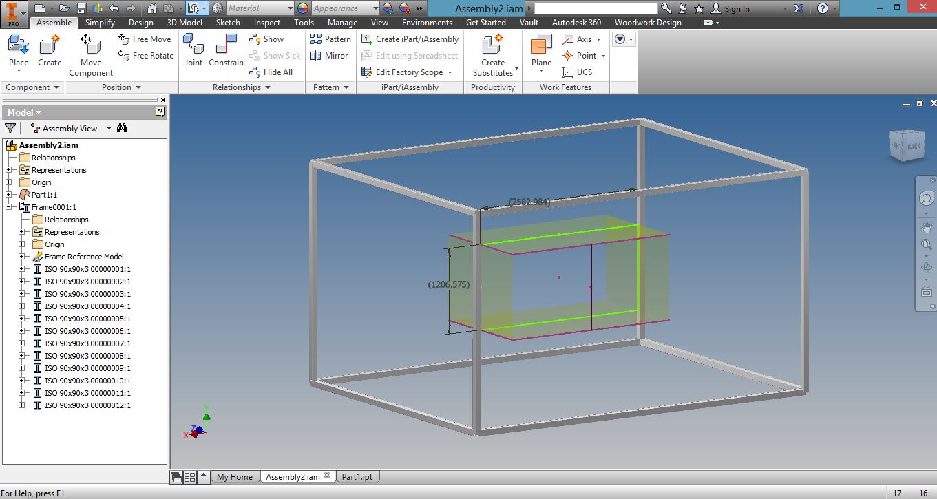 Frame does not change when sketch is changed - Autodesk Community ...