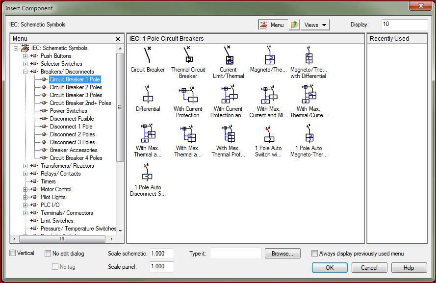 Solved One 4 Poles Circuit Breaker Ace Sees 4 Circuit Breakers
