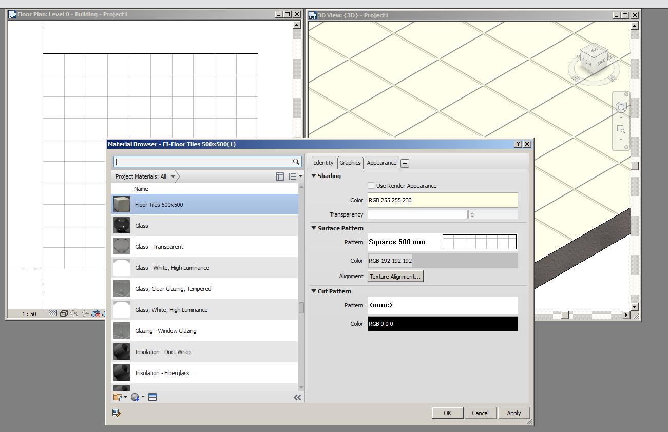 Floor plan, tiled floor: how? - Autodesk Community- Revit Products