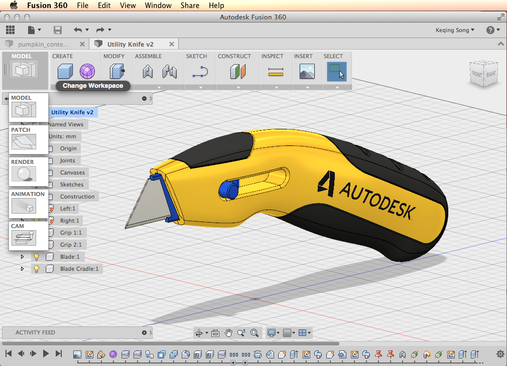 Preview October Update Fusion 360 Blog