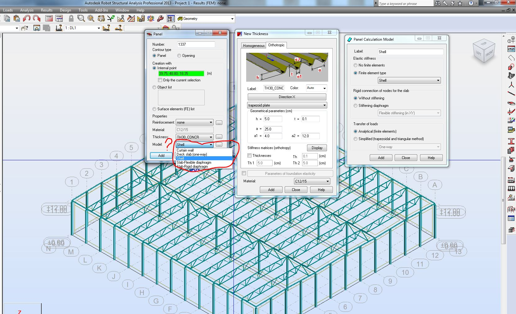 Solved: Load bearing steel sheet used for roofs as a horisontal ...
