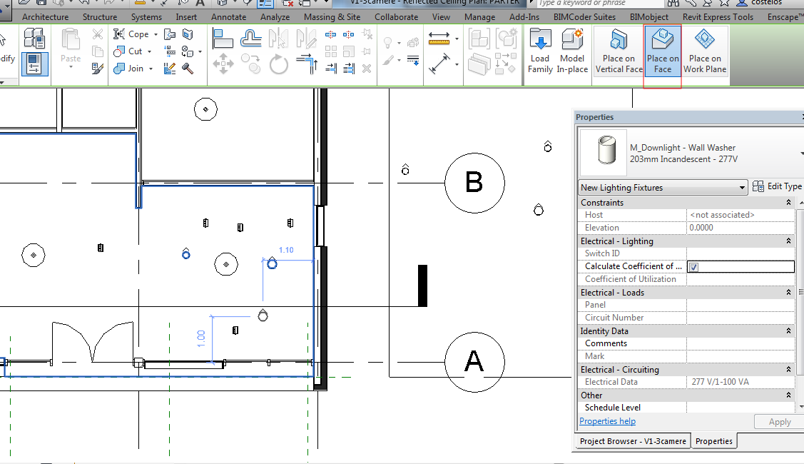 Solved Placing Lights Autodesk Community Revit Products