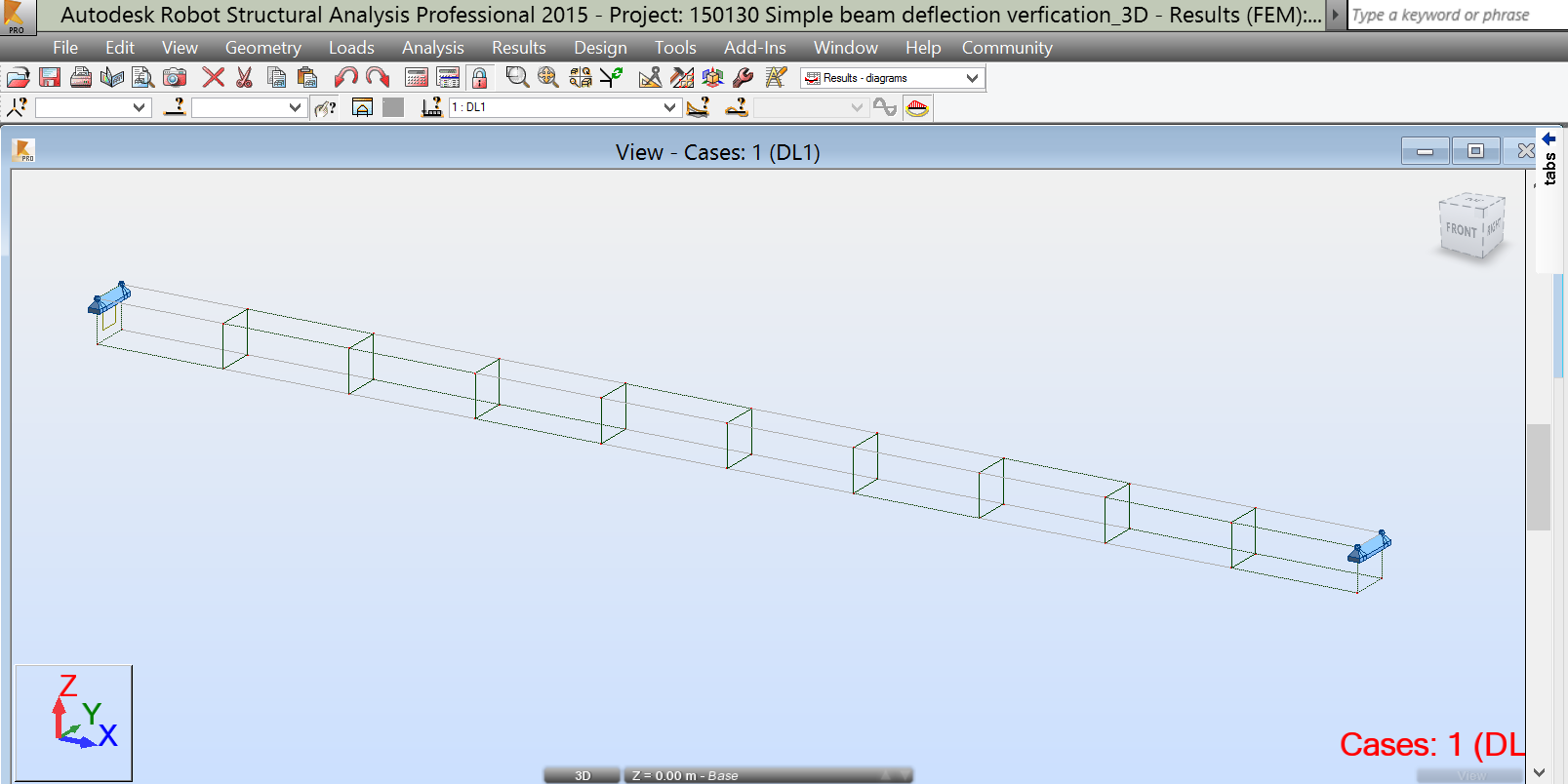 Solved Volumetric Structure Design Simple Beam Deflection Not Diagram Getting Correct Value