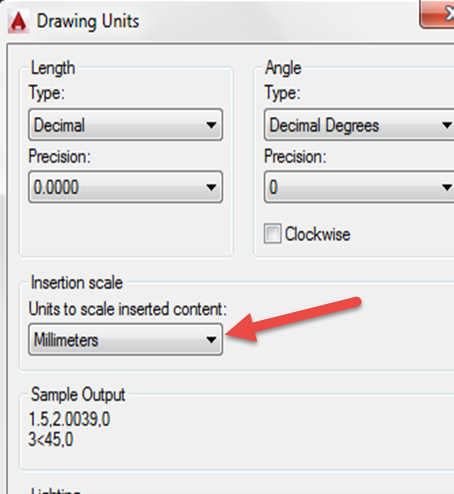 How To Convert Mm To Feet In Autocad 2015 Autodesk Community Autocad