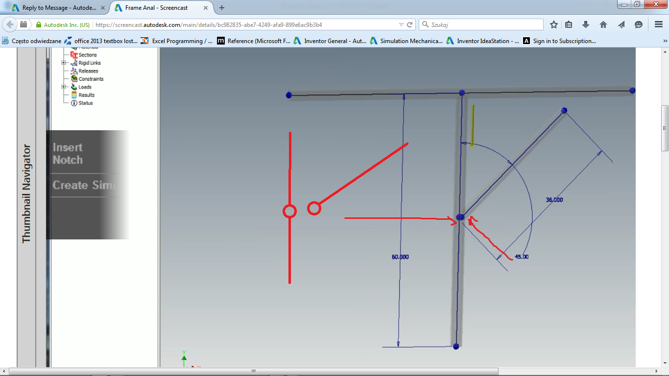 Frame analysis - expert help needed - Autodesk Community- Inventor