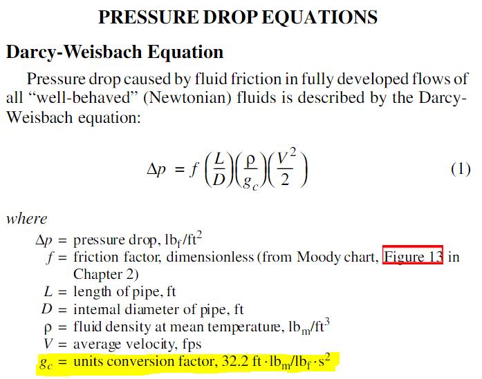 pressure drop calculation in pipe pdf