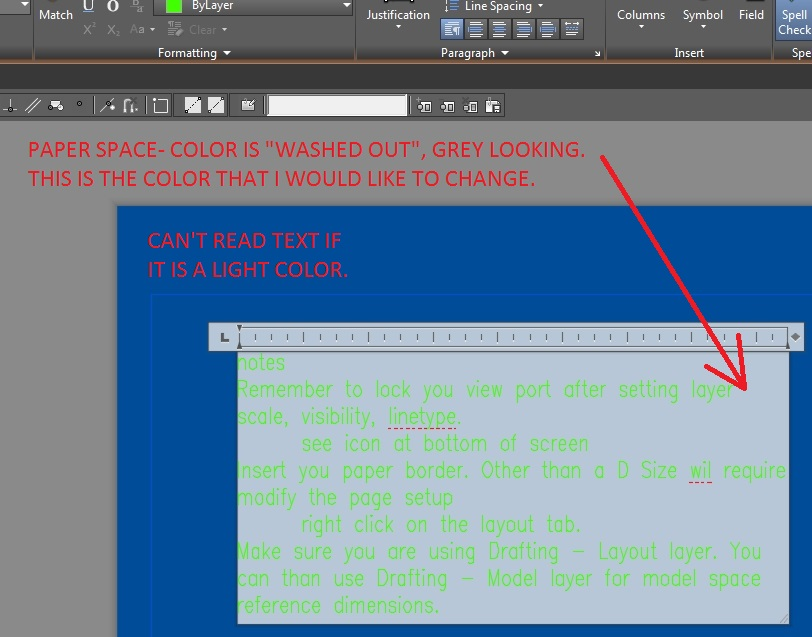 autocad 2015 how to change background color