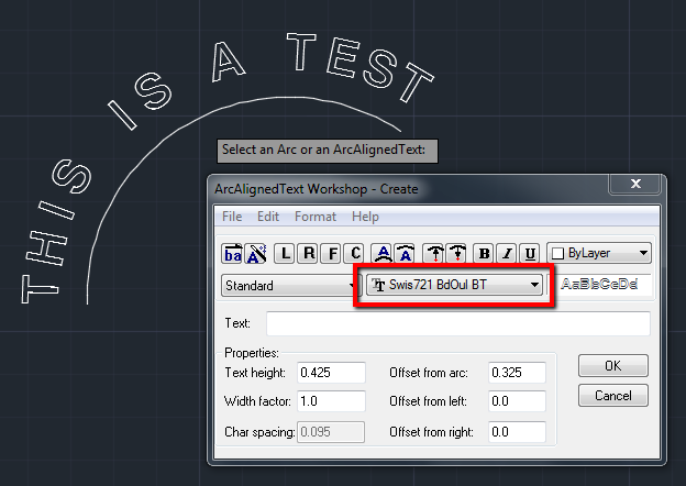 solved can autocadmake arc aligned outline text autodesk