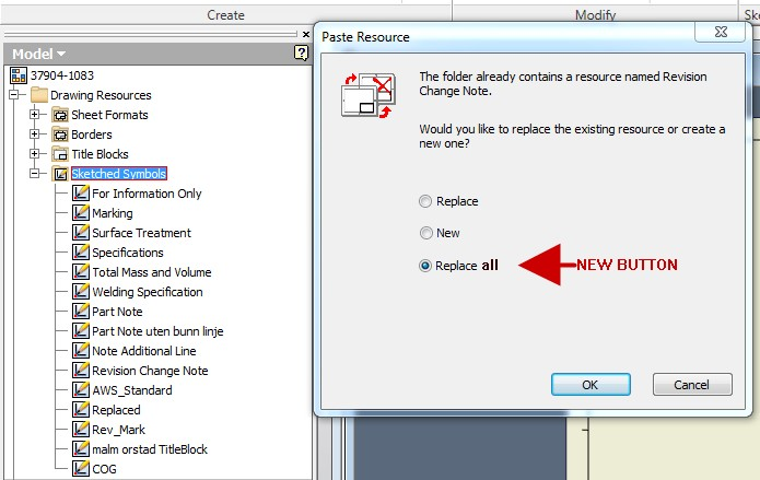 Replace Sketched Symbols In Drawing Autodesk Community