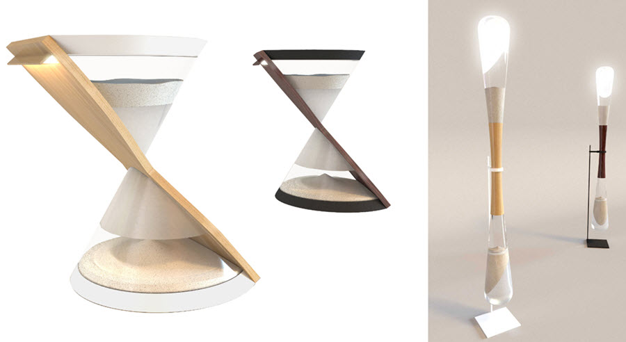 The Sand Powered Hourglass L&s are powered by kinetic energy generated from falling sand. To ignite the l&s the hourglass is flipped over and sand ...