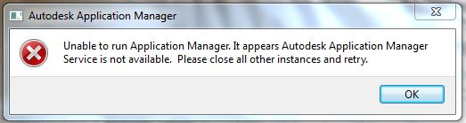 解決済み autodesk application manager autodesk community