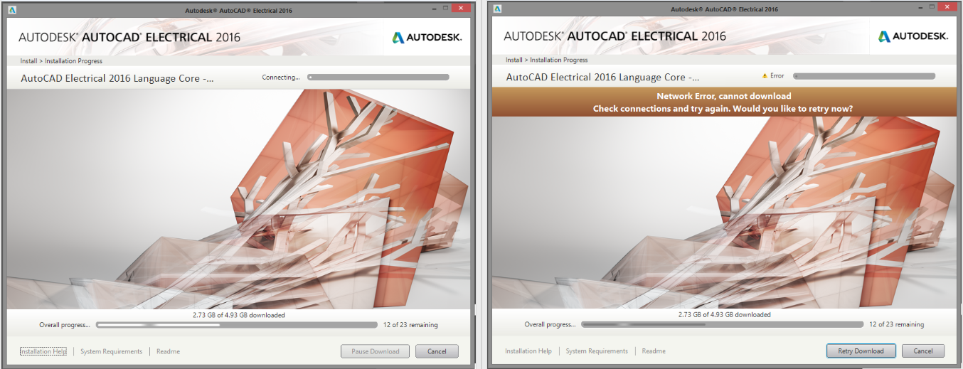 Problem Installing Autocad Electrical With Install Mode