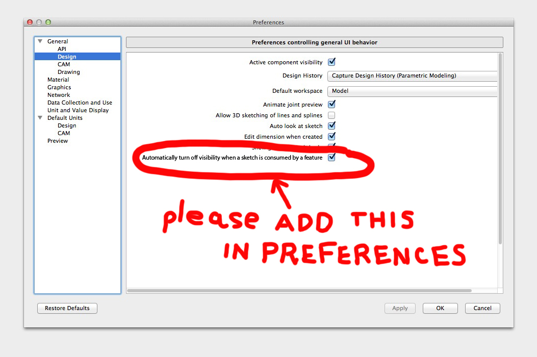 improve user experience and workflow stop automatically turning off