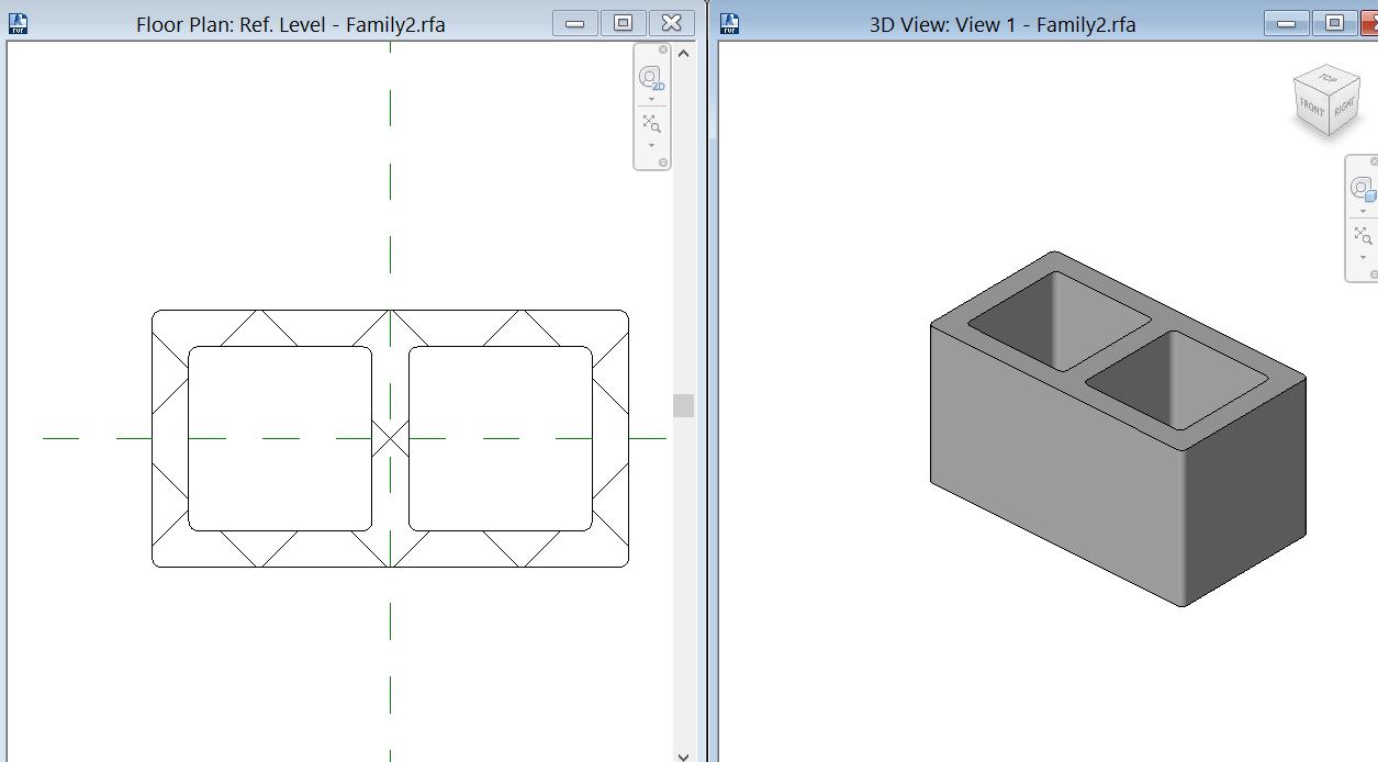 Making hollow block walls autodesk community revit products blockg ccuart Gallery