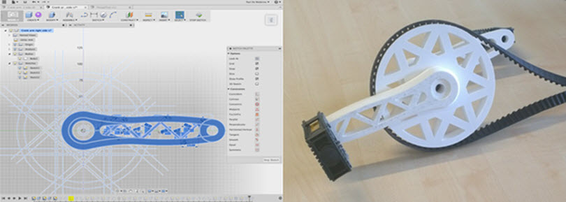 The Bike Project Aims To Design The World S First Diy 3d Printed