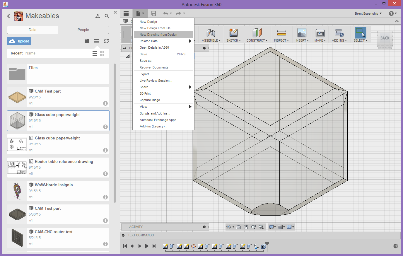 Solved turning a design into a blueprint autodesk community create drawing from designg malvernweather Choice Image