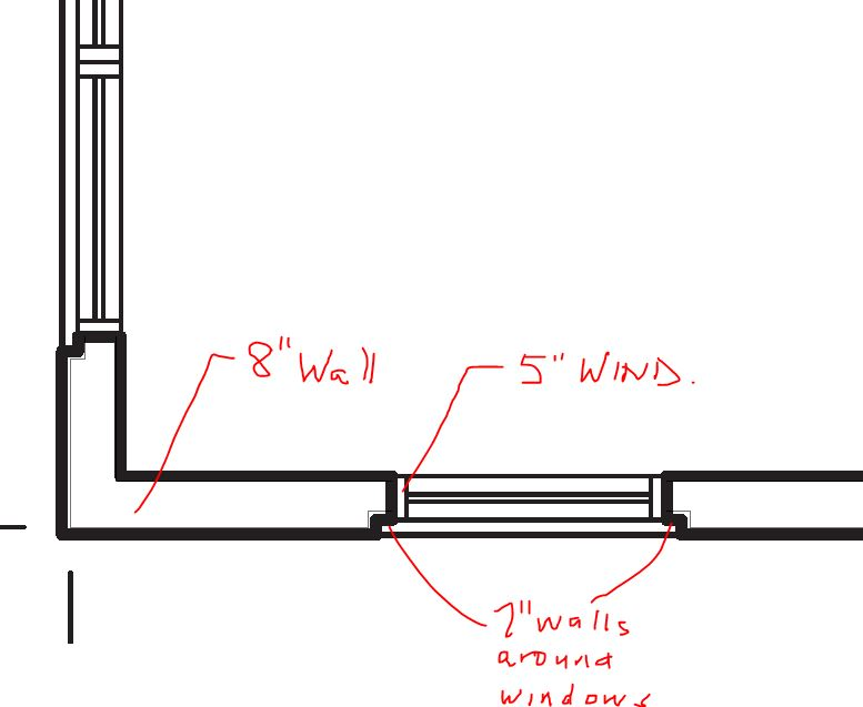 Solved: Wall Around Window Frame - Autodesk Community- AutoCAD ...