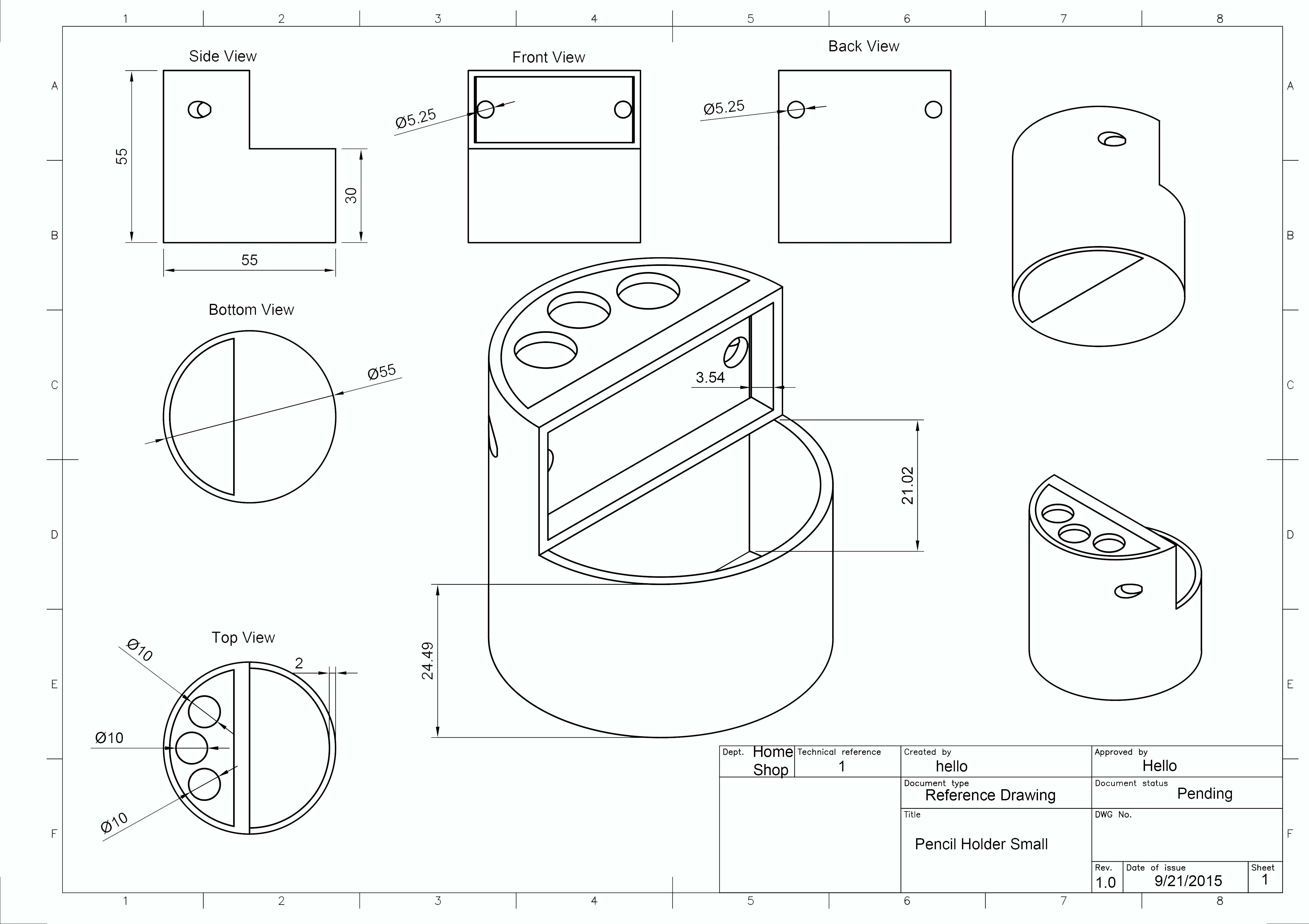 Solved: Turning a design into a blueprint - Autodesk Community ...