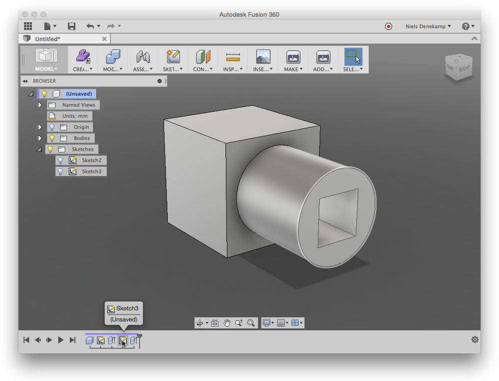 Changing Dimensions And Annoying Warning Autodesk Community Fusion 360